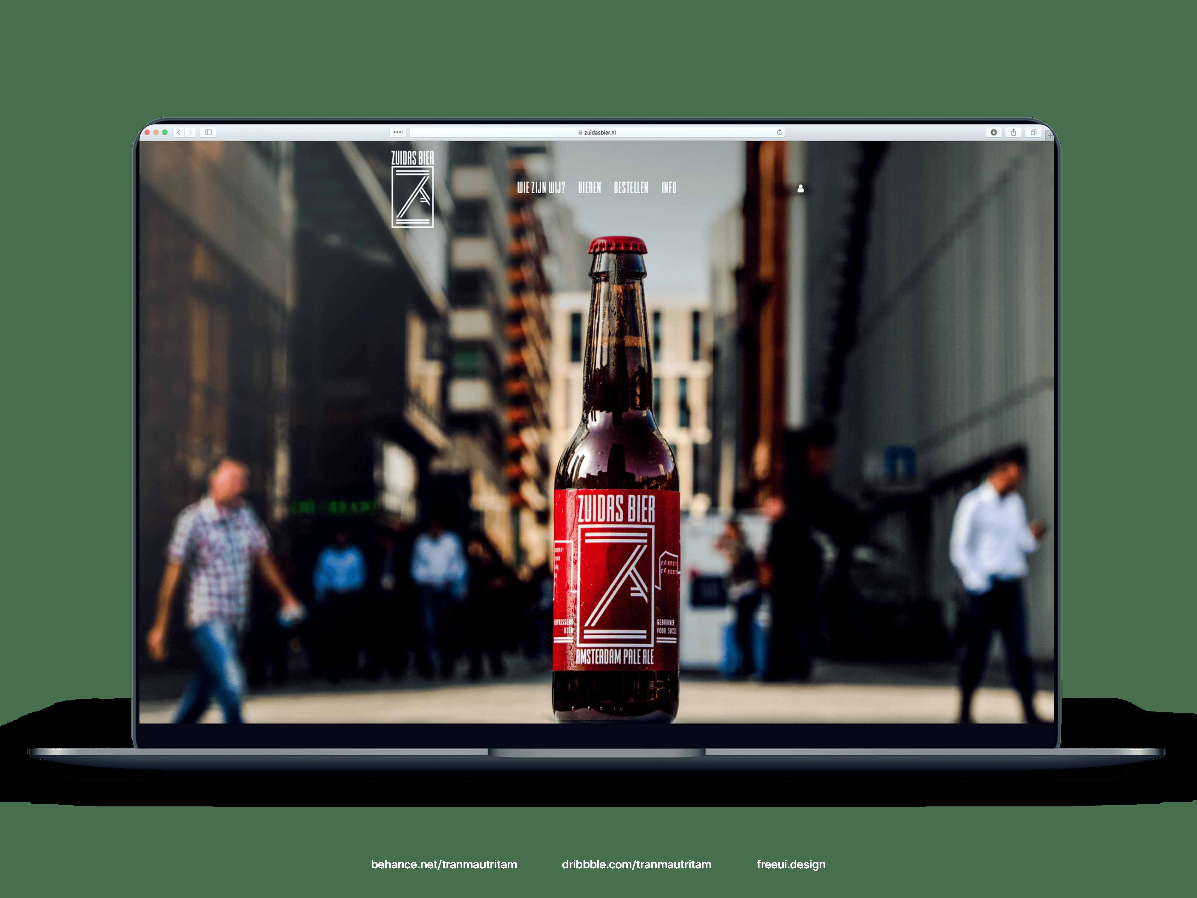 zuidasbier-website-mockup-min